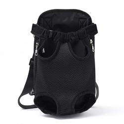 Al1 Рюкзак-кенгуру для собак черный, размер L, XL