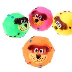 Al1 Игрушка для собак Мяч с мордочкой, 7см