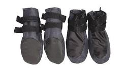 Osso Fashion Ботинки для крупных собак, черные, размер №4, №5