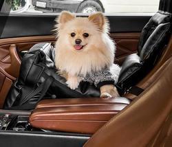 ДогСмит Автокресло-переноска для маленьких собак, 40х40х34см