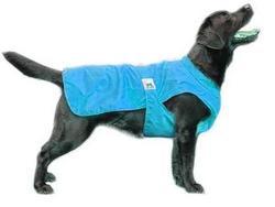 Пелигрин Попона-дождевик для крупных собак, размер №7, голубой, длина 58-68 см