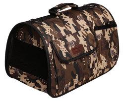 Lion Сумка-переноска Премиум с карманами, камуфляж, размер L, 50х31х30см