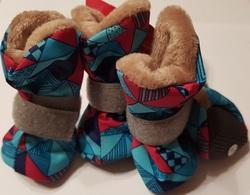 Osso Fashion Сапожки для собак зимние на меху, подошва ЭВА, размер XS, S, M