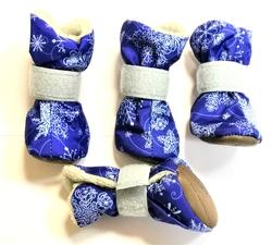 Osso Fashion Сапожки для собак зимние на меху, размер XS, S, M