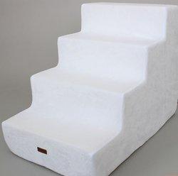 LuxDog Лестница для собак Вайт, белая 3 размера
