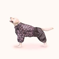 ZooTrend Комбинезон для больших пород собак, шоколад, размер 7XL, спина 77-84см