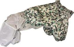 ZooTrend Комбинезон для больших собак, орнамент/серый, размер 5XL, спина 60см