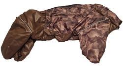 ZooTrend Комбинезон для средних пород собак, шоколад, размер 3XL, спина 47см