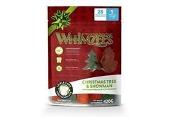 Whimzees Лакомства для собак Новогодний Микс (елочки/ снеговики), в пакете