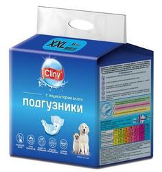 Cliny Подгузники для животных 25-40кг ХXL 6шт. уп.