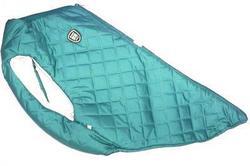 SportDog Куртка-попона меховая для средних собак, бирюза, спина 53см
