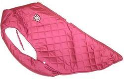 SportDog Куртка-попона меховая для крупных собак, красная, спина 58см