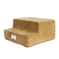 Al1 Лестница - ступеньки для собак, карамель, 2 ступени, размер 50x38x20см