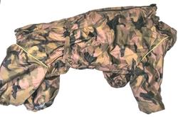 LifeDog Комбинезон для крупных пород собак камуфляж/капли, размер 7XL макси, спина 75-85см, грудь до 105см