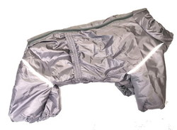 LifeDog Комбинезон для средних собак, серо/сиреневый, размер 3XL, спина 41-47см