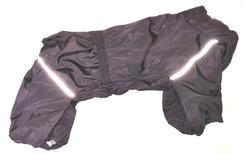 LifeDog Комбинезон для средних собак, баклажан, размер 3XL, спина 41-47см