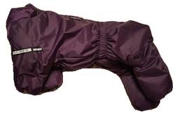 LifeDog Комбинезон для средних собак, баклажан, размер 2XL*, спина 37-43см
