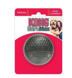 Kong Игрушка для собак DuraMax Мячик М, с пищалкой. d. 6,4см