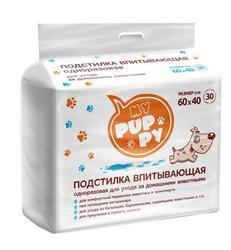 PetMil My Puppy Подстилка впитывающая одноразовая