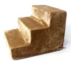 """LuxDog Лестница для собак св.коричневая """"Шокко"""", 3 размера"""