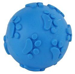 DOGMAN Игрушка для собак Мячик с лапками пищащий 6см