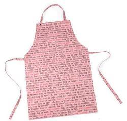 АНТ Фартук для грумера розовый принт, длина 85см