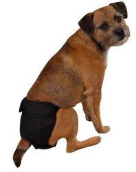 АНТ CleanGoPet Трусы защитные для собак, многоразовые, размер L, черные
