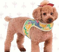 АНТ Pinkaholic Шлейка-жилетка для собак, размер M, L, желтый микс