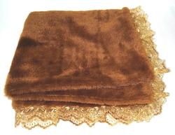 P&D Плед для собак и кошек Шоколад коричневый, размер 50х50см
