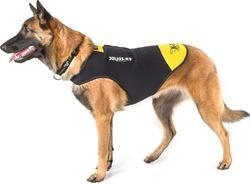 K9-Sport JULIUS Жилет для собак неопрен, черно-желтый