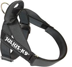 K9-Sport JULIUS Шлейка для собак Ремни Color & Gray IDC®, черный
