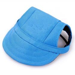 Al1 Кепка для собак голубая, размер S