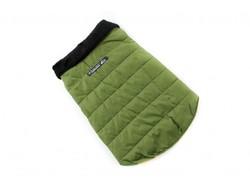 ZooAvtoritet Куртка для собак зеленая, размер XL, спина 36-40см