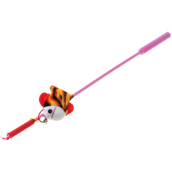 """V.I.Pet Дразнилка-удочка для кошек с игрушкой """"рыбка"""""""