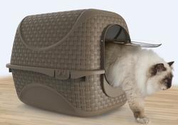 Био-туалет для кошек PRIVE' 42х50,5х39,6h см