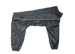 Osso Fashion Дождевик для крупных собак, модель для мальчика, черный, спина 55см