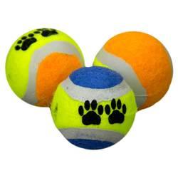 DOGMAN Игрушка Теннисный мяч 2 шт, 4,35см
