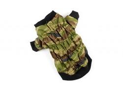 ZooPrestige Куртка для собак камуфляж зеленый, размер 3XL, спина 41-47смсм