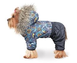 ZooTrend Комбинезон для собак Полярник, техно, размер L