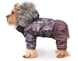 ZooTrend Комбинезон для собак Полярник, шоколад, размер M, XL