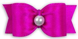 "Lainee Бантик 5/8"" SINGLE SATIN, 35х15мм, розовый"