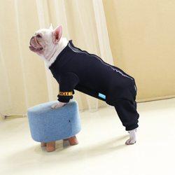 Al1 Костюм для собак трикотажный синий, размер L