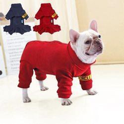 Al1 Костюм для собак трикотажный красный, размер М