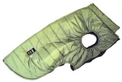 LifeDog Попона для больших пород собак, утепленная, размер 5XL, 6XL, фисташка