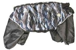 LifeDog Комбинезон для больших пород собак, камуфляж синий/черный, размер 5XL, спина 60см
