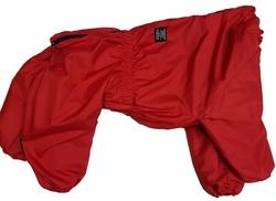 LifeDog Комбинезон для больших собак, серый, на синтепоне, размер 4XL, спина 55см