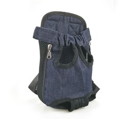 Al1 Рюкзак-переноска для собак джинса, размер L
