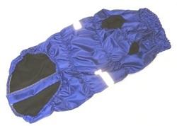 SportDog Куртка-попона на меху для крупных собак, василек, спина 75см