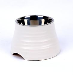SuperDesign Миска для собак меламиновая 500 мл, белая