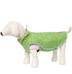 Osso Fashion Попона -жилет теплая для крупных собак салатовая, спина 65см